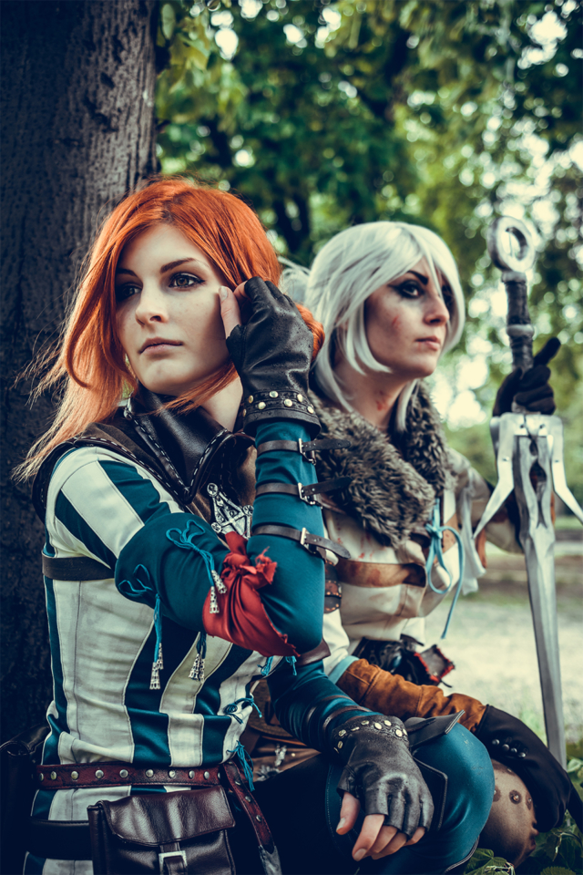 Witcher, Triss, Ciri, Cosplay