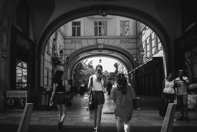Budapest, Black and White, B&W